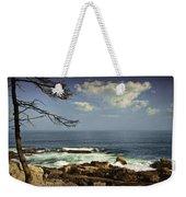 Shoreline View In Acadia National Park Weekender Tote Bag
