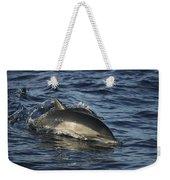 Short-beaked Common Dolphin Sea Weekender Tote Bag