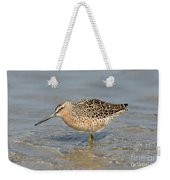 Short-billed Dowitcher, Breeding Weekender Tote Bag