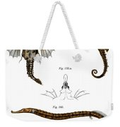Short Dragonfish Weekender Tote Bag