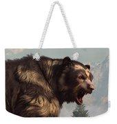 Short Faced Bear Weekender Tote Bag by Daniel Eskridge