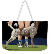 Show Day In Chestertown Weekender Tote Bag by Marjorie Weiss