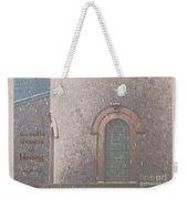 Showers Of Blessing Weekender Tote Bag
