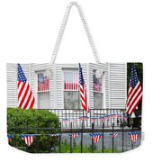 Showing The Flag Usa Weekender Tote Bag