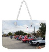 Showing The Ride Weekender Tote Bag