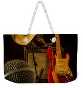 Show's Over Weekender Tote Bag by Robert Frederick
