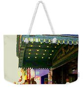 Showtime Toronto's Broadway Monty Python Spamalot Theatre District The Plays The Thing City Scenes Weekender Tote Bag