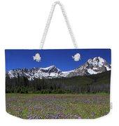 Showy Penstemon Wildflowers Sawtooth Mountains Weekender Tote Bag