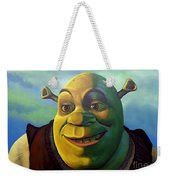 Shrek Weekender Tote Bag by Paul Meijering