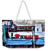 Shrimp Boat Buckets Weekender Tote Bag