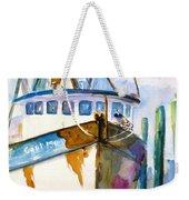 Shrimp Boat Isra Weekender Tote Bag