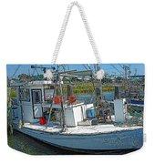 Shrimp Boat - Southern Catch Weekender Tote Bag