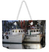 Shrimp Boats Reflecting Weekender Tote Bag