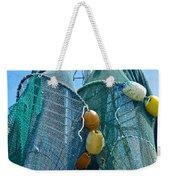Shrimp Net Close Up Weekender Tote Bag