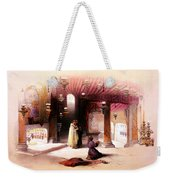 Shrine Of The Nativity Bethlehem April 6th 1839 Weekender Tote Bag