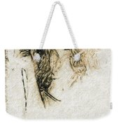 Shroud Of A Lady Weekender Tote Bag