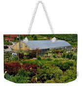 Shrubbery At A Greenhouse Weekender Tote Bag