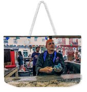 Shucking Oysters In The French Quarter Weekender Tote Bag