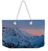 Shuksan Sunset Panorama Weekender Tote Bag