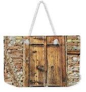 Shuttered Window Weekender Tote Bag
