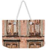 Four Wooden Shutters Weekender Tote Bag