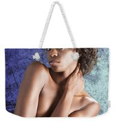 Chynna African American Nude Girl In Sexy Sensual Photograph And In Color 4786.02 Weekender Tote Bag