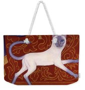 Siamese Cat Runner Weekender Tote Bag
