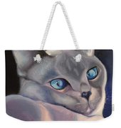 Siamese In Blue Weekender Tote Bag