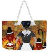 Siamese Queen Of Thanksgiving Weekender Tote Bag