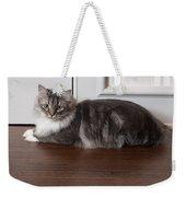 Siberian Forest Cat Weekender Tote Bag