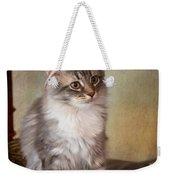Siberian Forest Kitten II Weekender Tote Bag