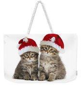 Siberian Kittens In Hats Weekender Tote Bag