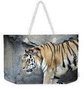 Siberian Tiger Panthera Tigris Altaica Usa Weekender Tote Bag
