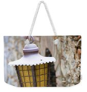 Sicilian Village Lamp Weekender Tote Bag by David Smith