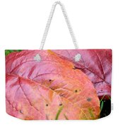 Side By Side They Fall Weekender Tote Bag
