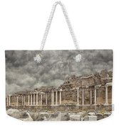 Side Nymphaeum Fountain Ruins Weekender Tote Bag