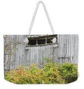 Side Of Barn In Fall Weekender Tote Bag