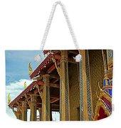 Side Of Royal Temple At Grand Palace Of Thailand In Bangkok Weekender Tote Bag