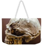 Side Profile View Of Human Skull   Weekender Tote Bag