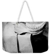Side Saddle Weekender Tote Bag