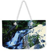 Side View Of Bumping Creek Falls Weekender Tote Bag