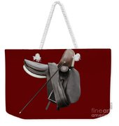 Sidesaddle And Crop Weekender Tote Bag by Linsey Williams