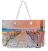 Sideside Heights Sunset Weekender Tote Bag