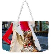 Sidewalk Catwalk 4 A Weekender Tote Bag