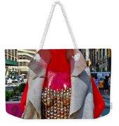 Sidewalk Catwalk 8 Weekender Tote Bag