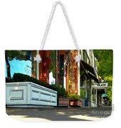 Sidewalk In Saint Helena Weekender Tote Bag