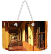 Sidewalk In Tlaquepaque District Of Guadalajara Weekender Tote Bag by Elena Elisseeva