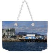 Sidney Harbour On Vancouver Island Weekender Tote Bag