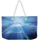 Sierra Radiance Weekender Tote Bag