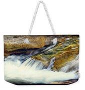 Sierra Snow Melt Weekender Tote Bag